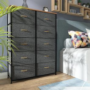 10 drawer chest in the bedroom