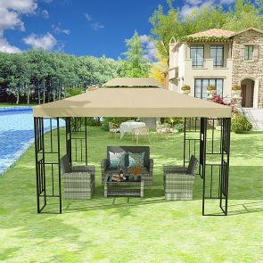 use of patio canopy gazebo