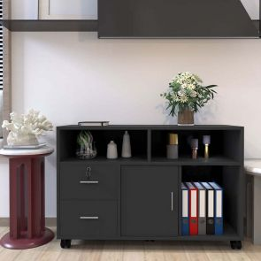 2 drawer file cabinet in the living room