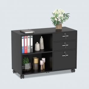 2021 3 drawer wood file cabinets