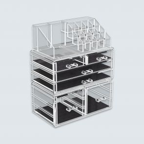 3 pcs cosmetic storage box