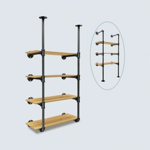 2021 wall mounted bookcase
