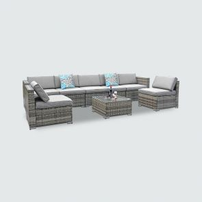 2021 8 piece patio furniture sets