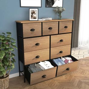 9 drawer storage tower in the living room
