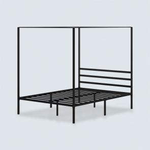 metal canopy full of a size bed frame