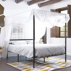 full size bed frame with headboard