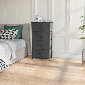 4 drawer storage in the bedroom