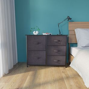 5 drawer chest in the bedroom
