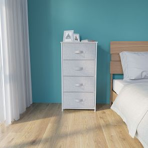 4 drawer chest in the bedroom
