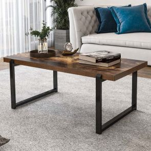 modern coffee table with storage in the living room
