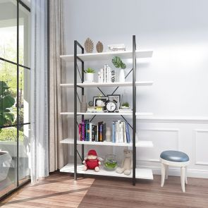 etagere bookcase in the living room