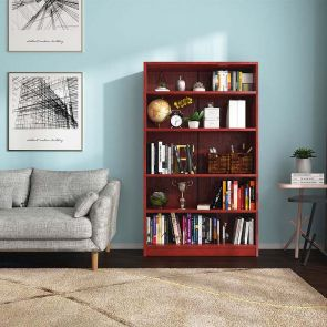 cherry bookcase for the living room