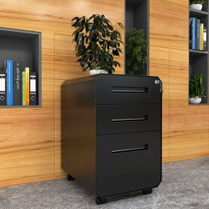 filing cabinet with lock in the home