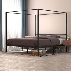 canopy bed frame all effect
