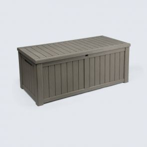 large waterproof deck storage box