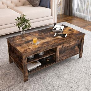use of mid century modern coffee table