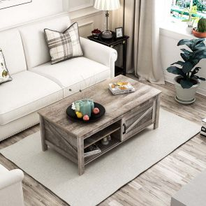 2021 solid wood coffee table