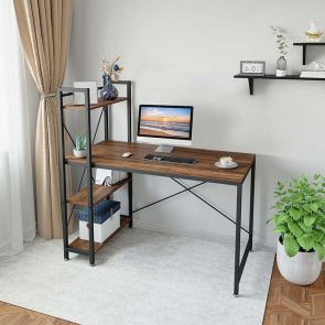 large computer desk in the home