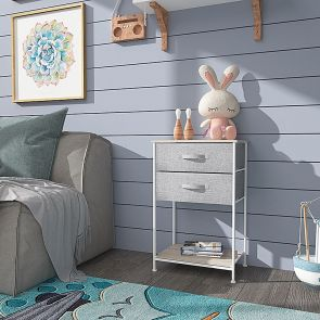 2 drawer chest in the bedroom
