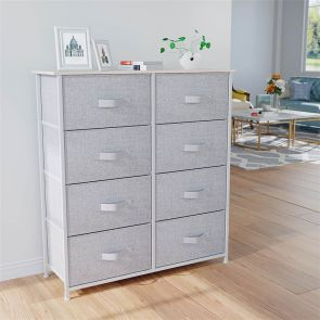 8 drawer chest in the bedroom