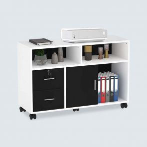 2021 2 drawers mobile file cabinet