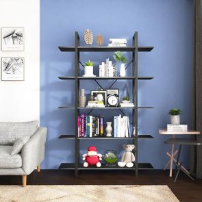 new design open bookcase