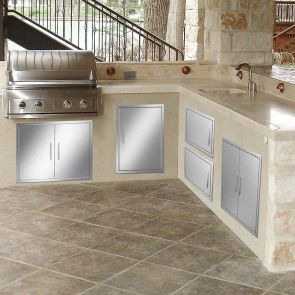 outdoor kitchen access doors all effect