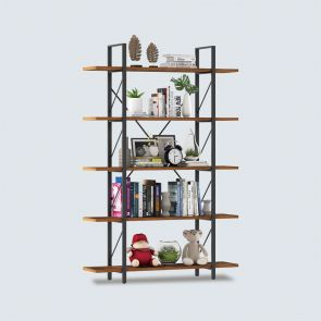 2021 5 shelf bookcase