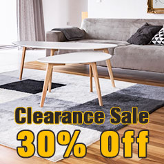 clearance sale 30% off