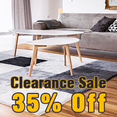 clearance sale 35% off