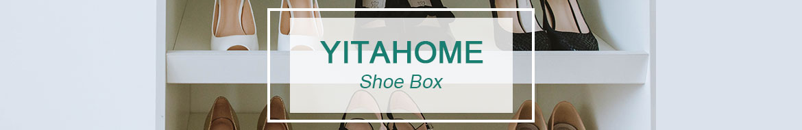 Plastic shoe box containers banner