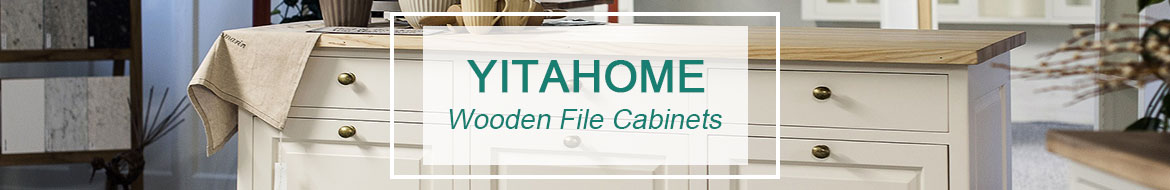 3 drawer wood file cabinets banner