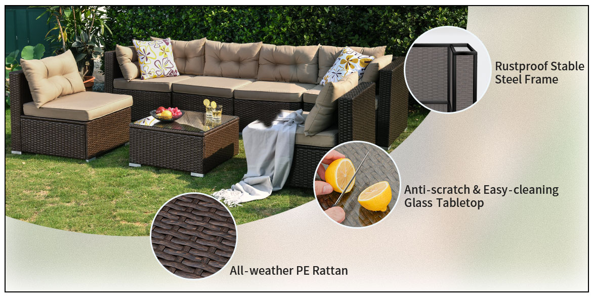 outdoor furniture sets features