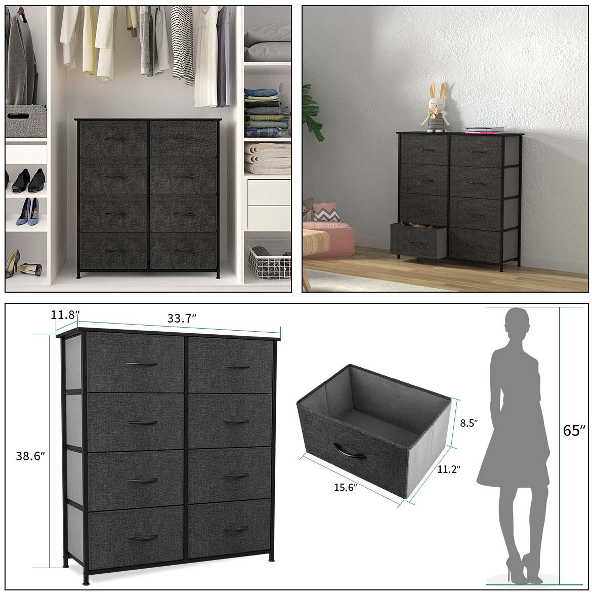 8 drawer chest detail size