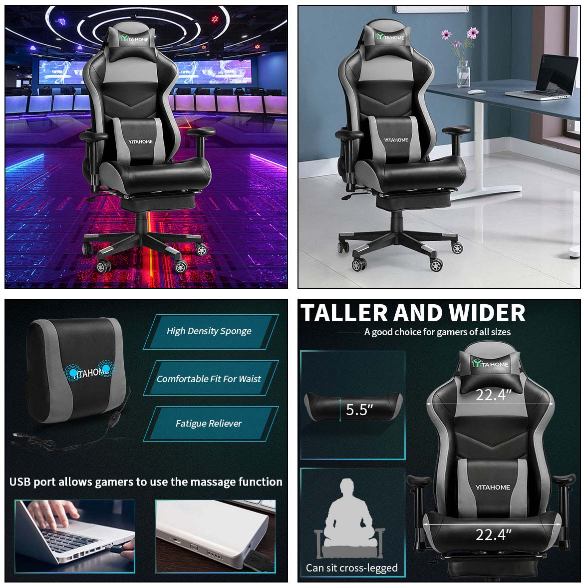 best gaming chair detail
