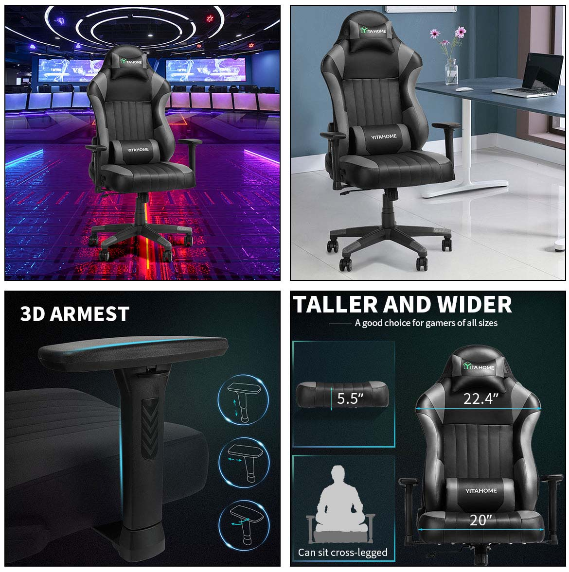 best gaming chairs detail