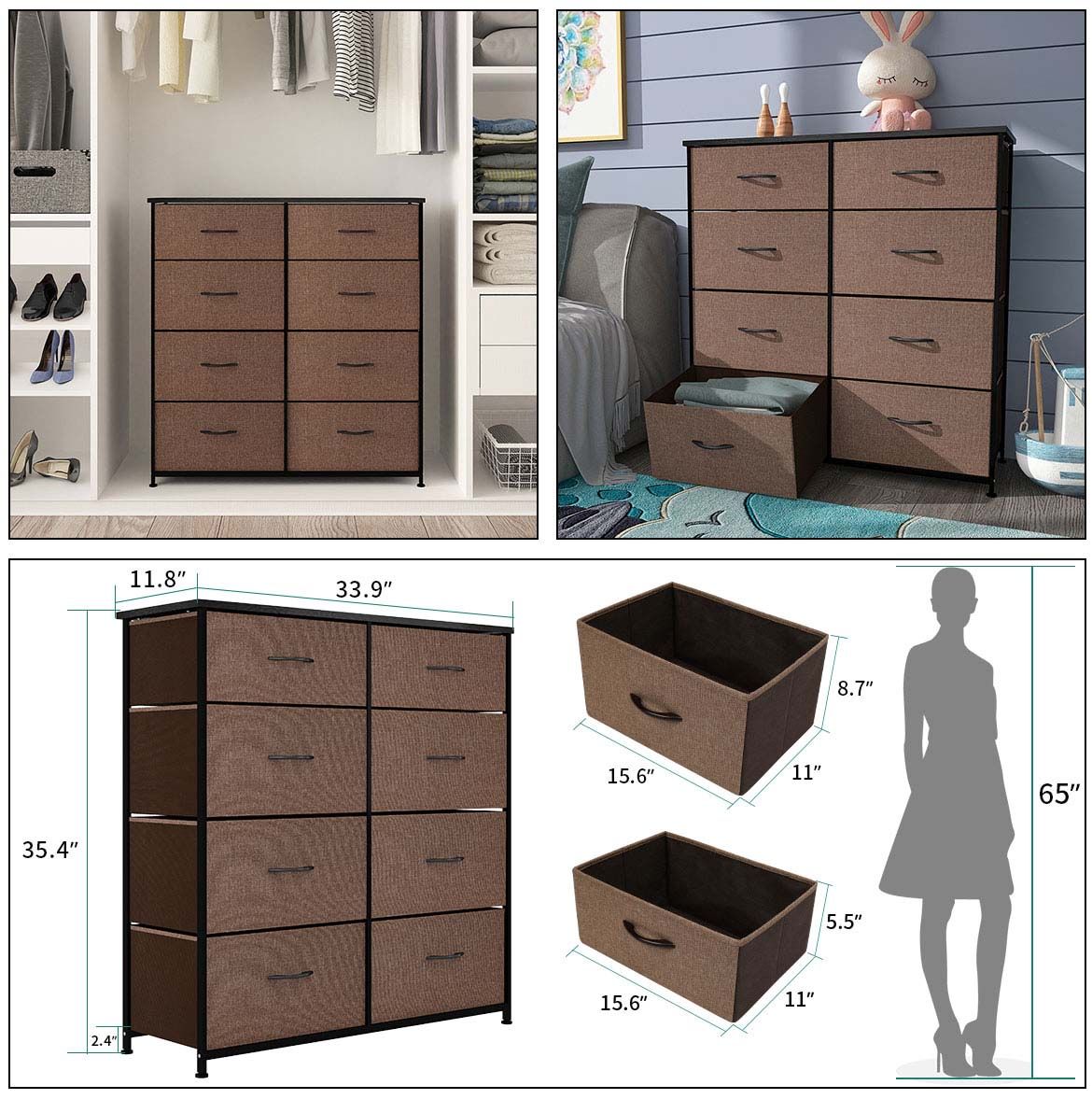 chest drawer detail size