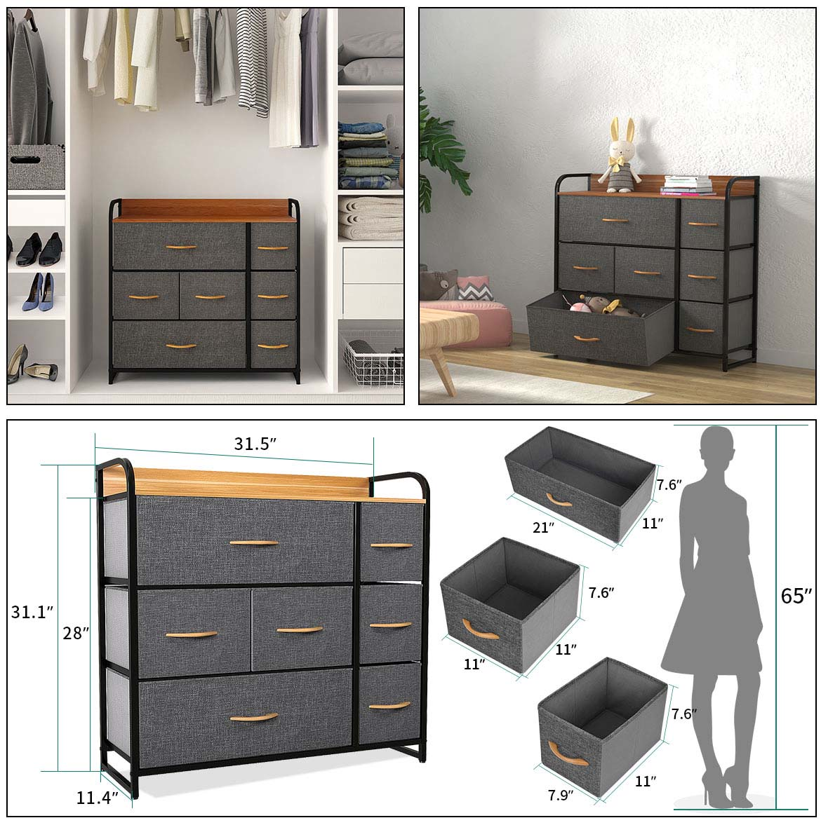 drawer chest detail size