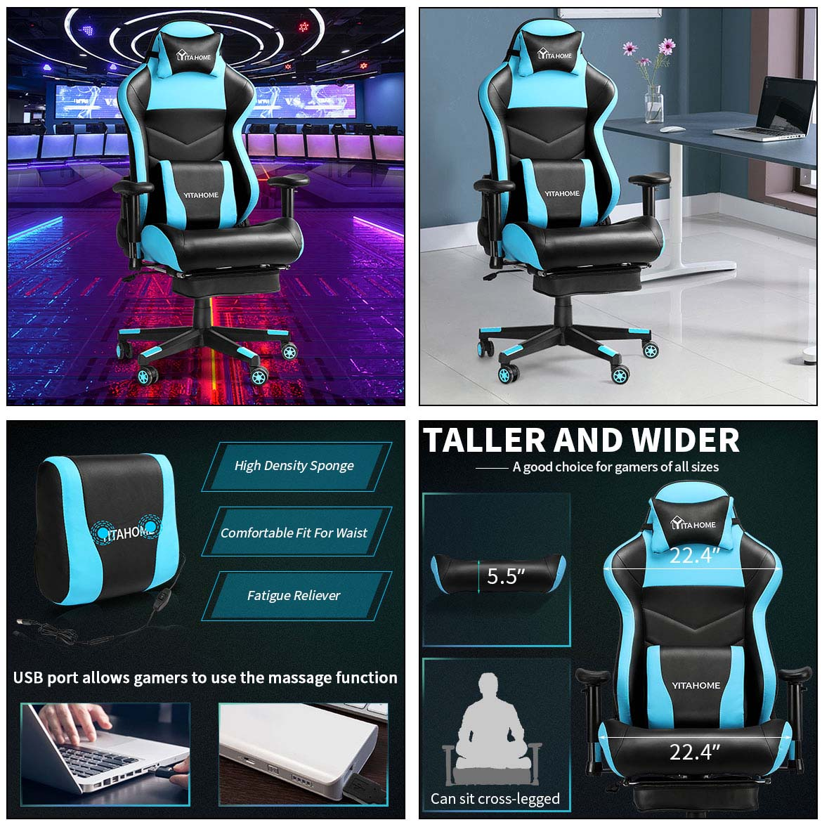 gaming chairs detail