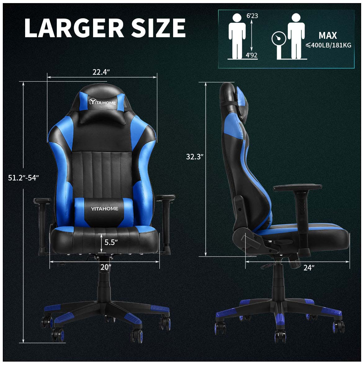 good gaming chairs detail larger size