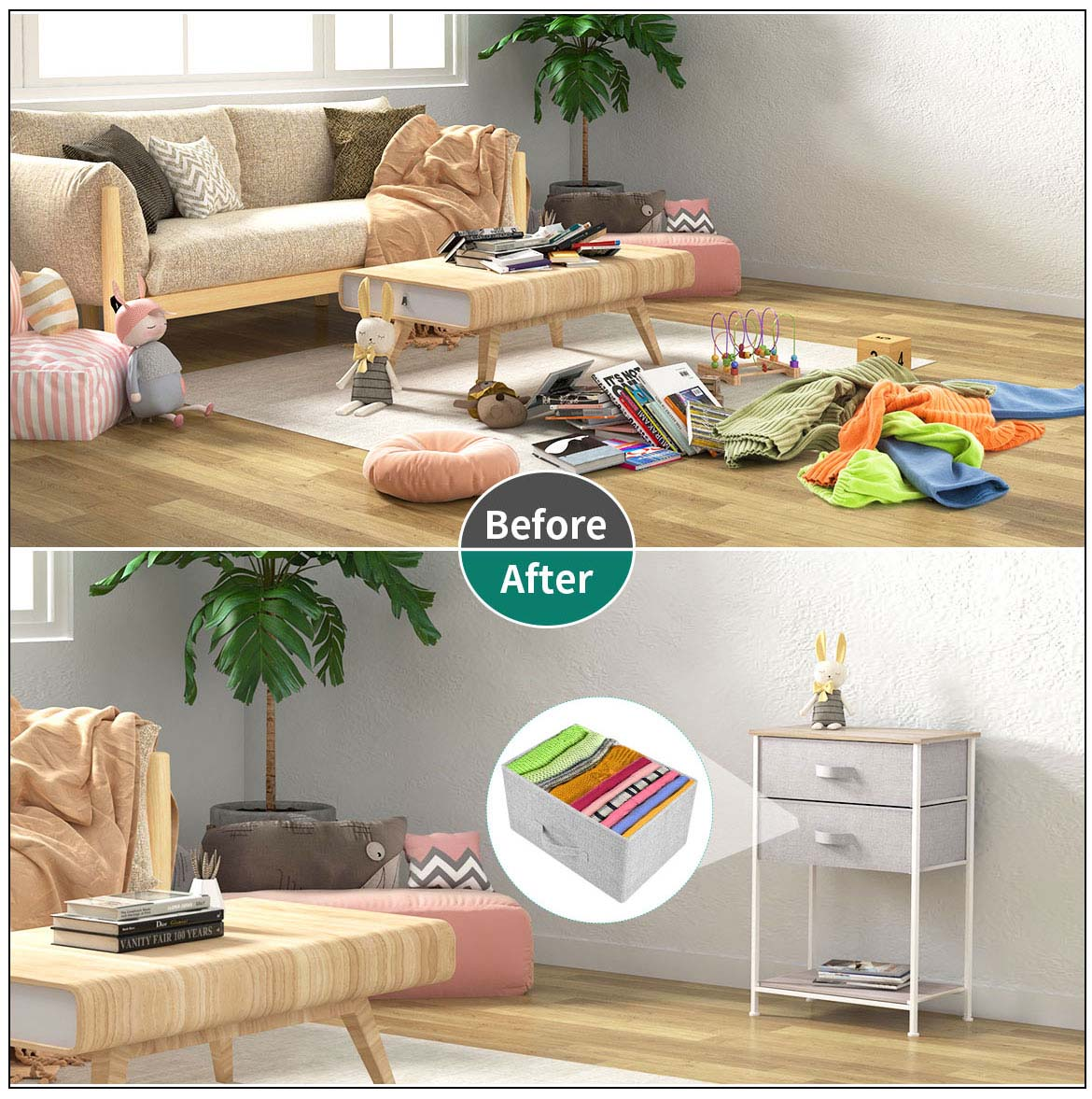 small storage drawer detail compare