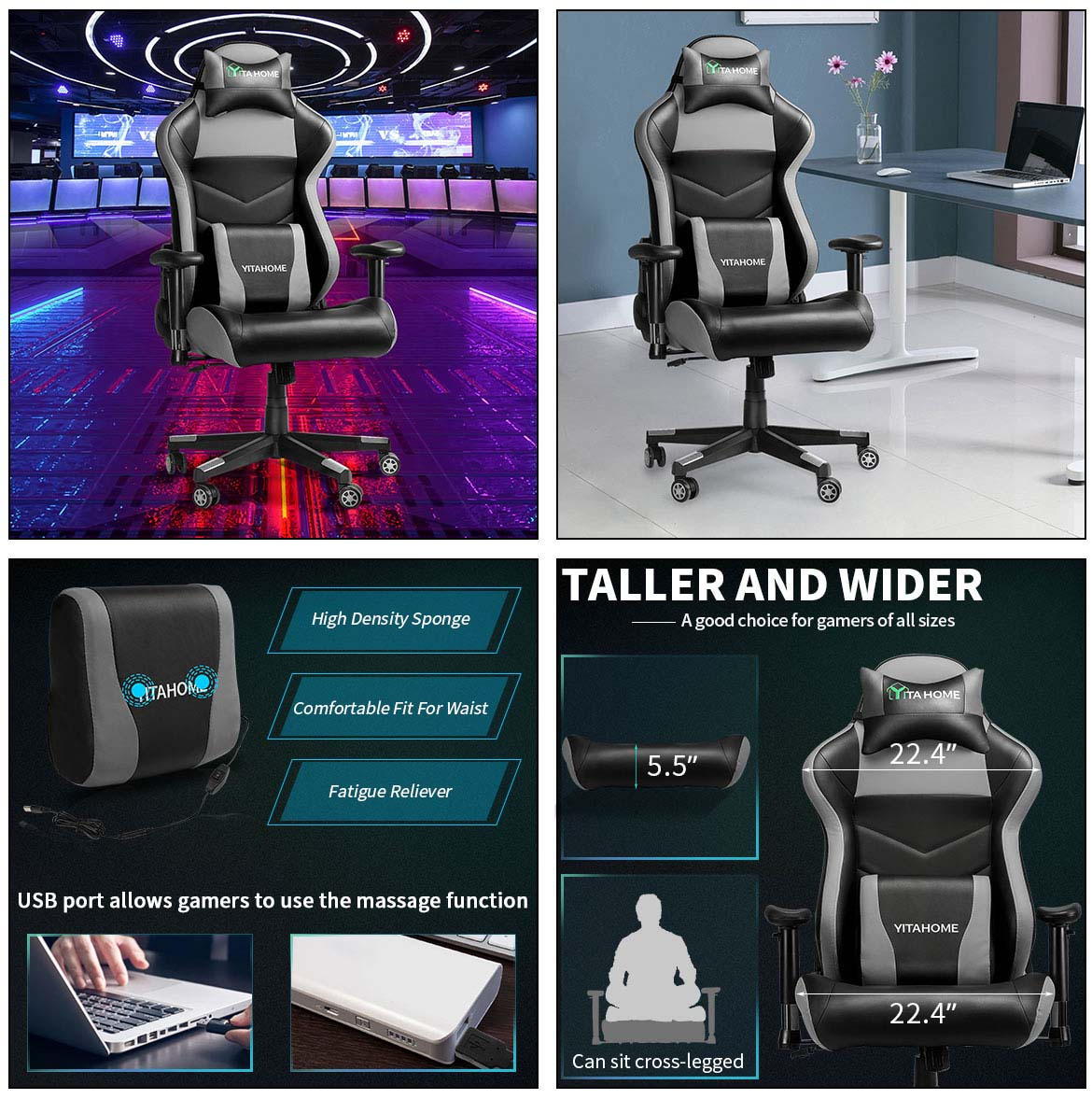 top gaming chairs detail