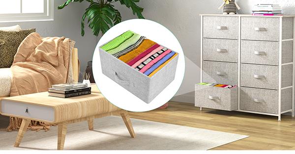 8 drawer fabric dresser