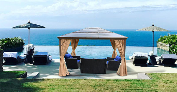 permanent outdoor canopy